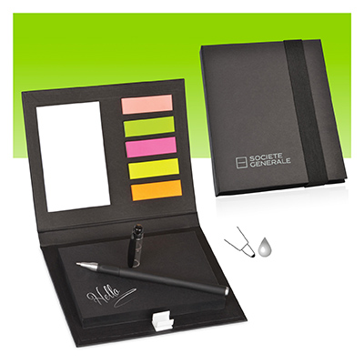 MAGIC Note book Set with sticker bookmarks - AC 915