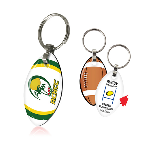 Porte-clefs 2 DOMING rugby - AC 1523