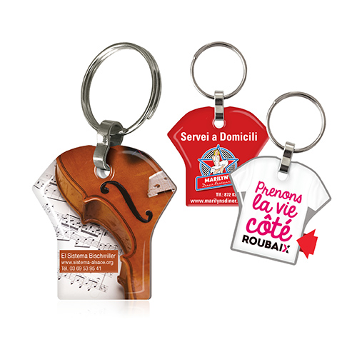 Porte-clefs 2 DOMING t-shirt - AC 1529