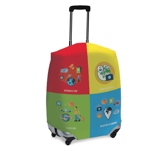 Luggage cover size L - AC 7002