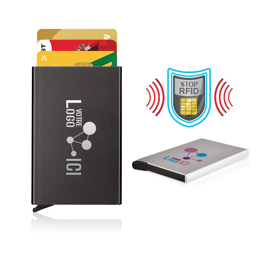Étui porte-cartes automatique anti RFID - CO 4