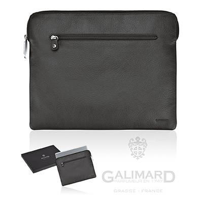 IPad leather pouch by GALIMARD - GM 110