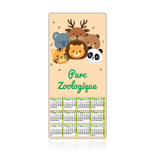 LARGE SPACE magnetic calendar - MG 1900
