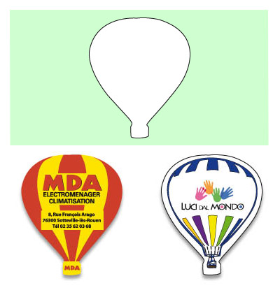 Air baloon magnet - MG 9912